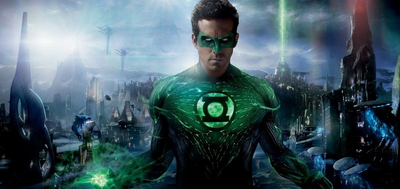 Ryan Reynolds is Earth's representative in the intergalactic Green Lantern Corps.