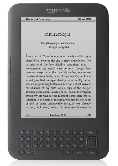 The Amazon Kindle and other e-readers seem to be popular choices for Father's Day.