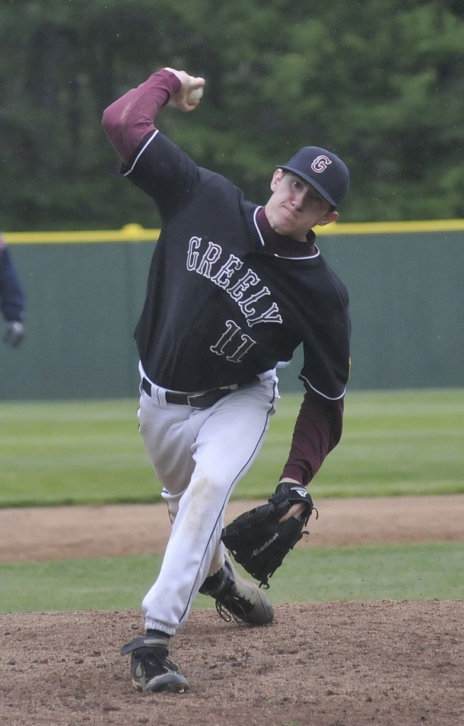 Mike Leeman has followed his father, Mark, and grandfather, Bob Logan, as Greely baseball standouts.