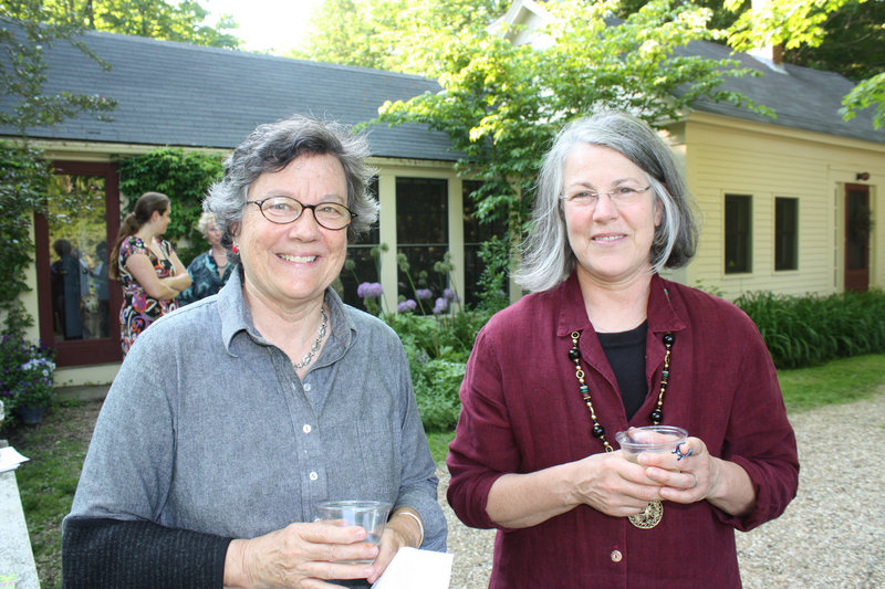Susan Tureen and Jean Beal, who both live in Portland.