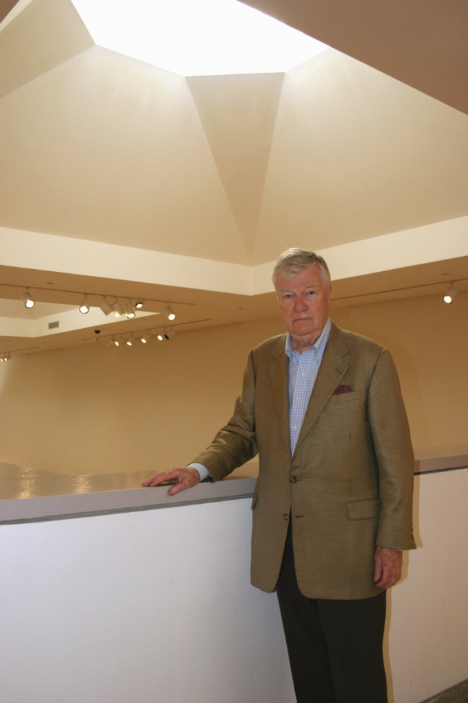 Henry Cobb paid a visit on Thursday to the Portland Museum of Art, whose Payson Wing he designed 28 years ago.