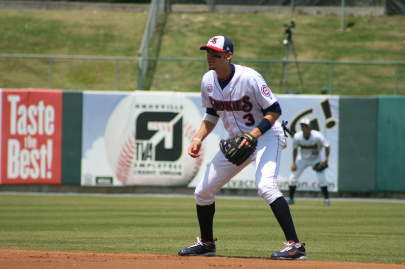 Ryan Flaherty has committed only four errors this season while playing six different positions for the Tennessee Smokies, the Double-A affiliate of the Chicago Cubs.