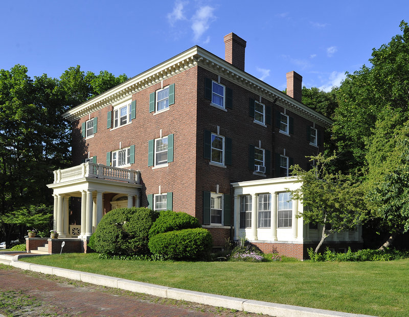 Maine Bishop Richard Malone is moving to Falmouth from this 7,000-square-foot mansion at 199 Western Promenade in Portland to save money on heating, maintenance and taxes. The diocese has not set a selling price.