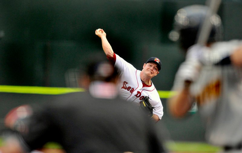 Alex Wilson had eight strikeouts in 5 2/3 scoreless innings and lowered his ERA to 2.92 as the Sea Dogs beat Trenton 11-4 on Wednesday night at Hadlock Field.