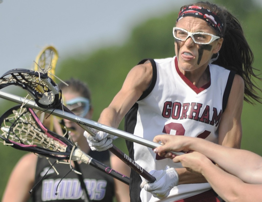 Mia Rapolla will be playing lacrosse at the University of Massachusetts next season after a standout Gorham career.