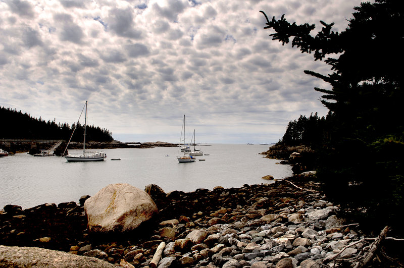 Isle au Haut's Duck Harbor offers a mail-boat stop for visitors interested in exploring the section of Acadia National Park that covers 60 percent of the island.