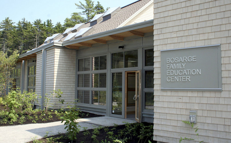 The Bosarge Family Education Center at the Maine Coastal Botanical Gardens in Boothbay has a grand opening Friday. The $4.2 million project is the state's first commercial building designed to produce more power than it uses, but it will take a year to calculate how well the project is faring.