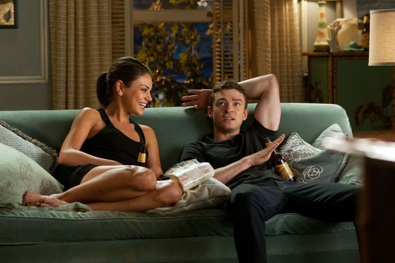 Mila Kunis and Justin Timberlake click in
