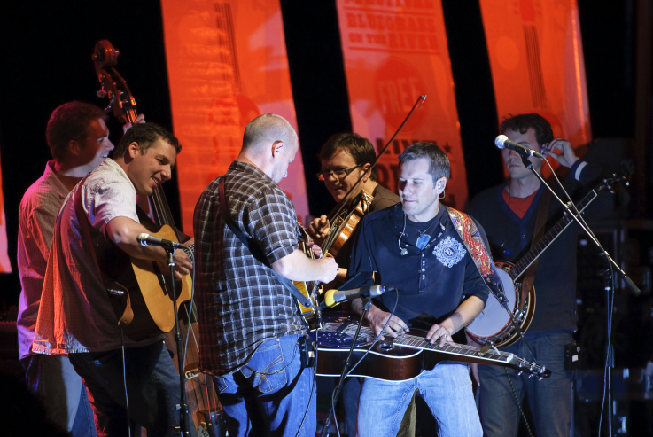 The Infamous Stringdusters are among the dozens of performers at the Ossipee Valley Music Festival this weekend.