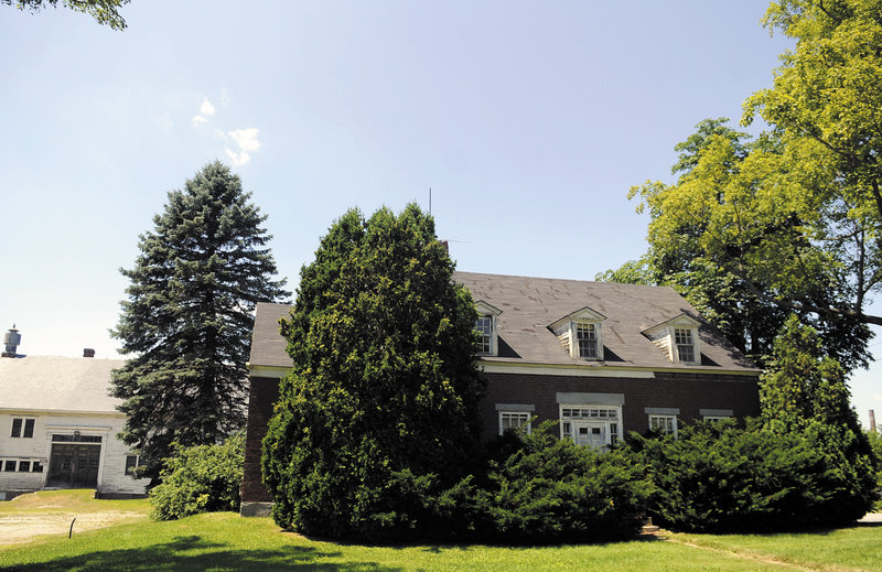 AUGUSTA: The Brick Farmhouse, 4,300 square feet, on the former AMHI campus.