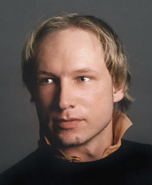Anders Behring Breivik, 32, in a photo from his Twitter page, is charged with a shooting rampage at a youth camp in Norway and the bombing of a government building in Oslo.