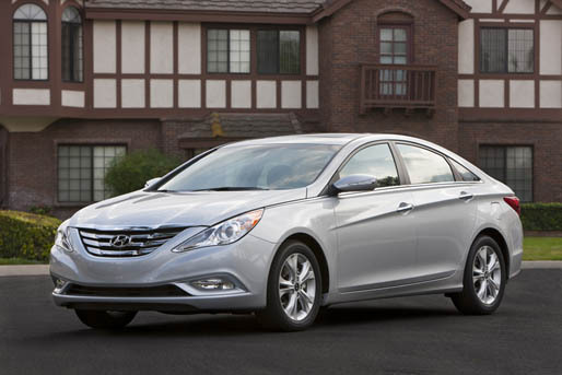 Photos courtesy Hyundai The Sonata is Hyundai's highly rated, popular luxury model.