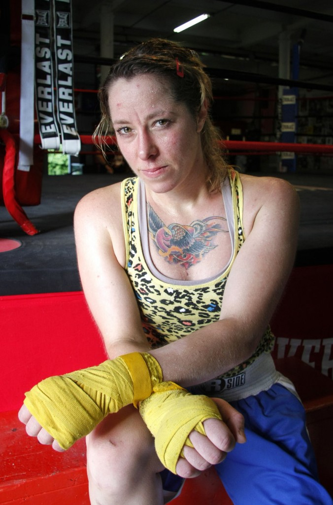 Liz Leddy of Portland is attempting to be part of the United States team for the first women's boxing competition in the Olympics. Her manager believes she can be a winner at 132 pounds.