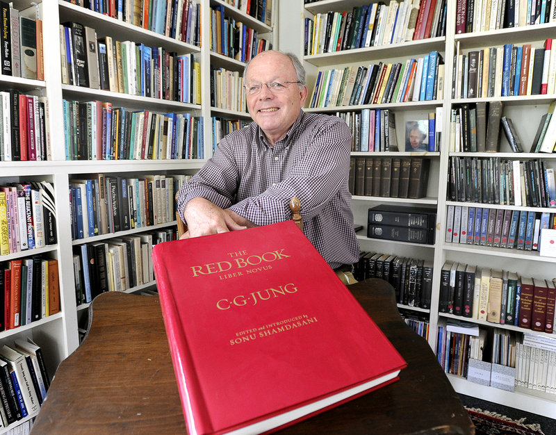 Paul Huss helped found the Maine C.G. Jung Center in Brunswick in 1988. The center will celebrate the 75th anniversary of Carl Jung's visit to Bailey Island with a special program Sept. 25 at the Bailey Island Library.