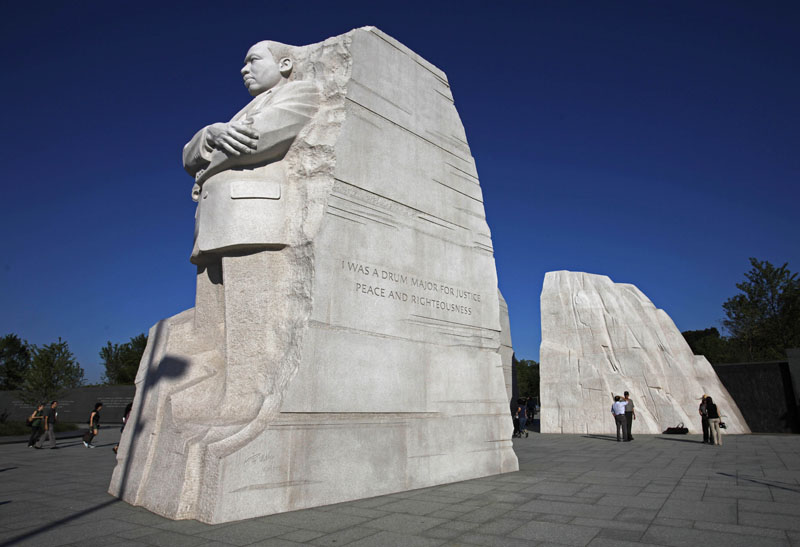 The ceremony to dedicate the statue of Dr. Martin Luther King Jr. on the National Mall in Washington, D.C., has been postponed.