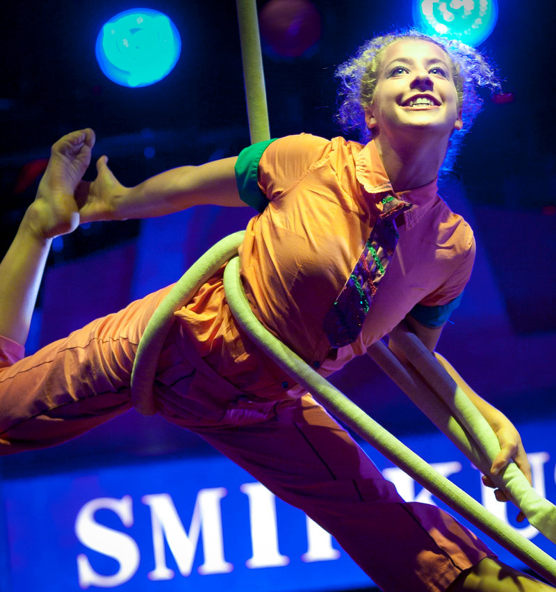 Circus Smirkus, a Vermont-based youth circus, will be playing Kennebunkport and Freeport over the next couple of weeks.
