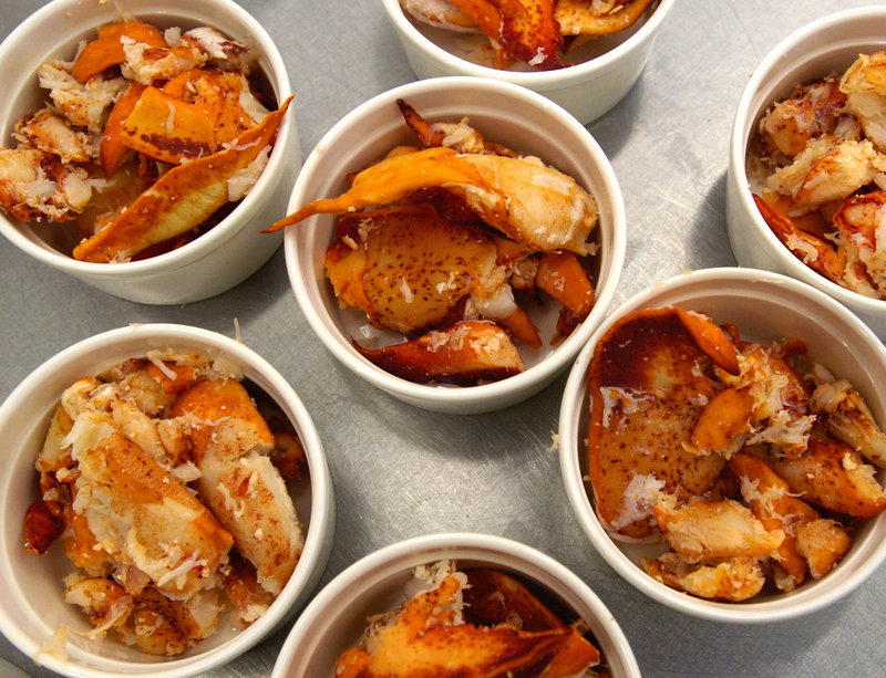 Cooked lobster meat plays a starring role in three hors d'oeuvre recipes.