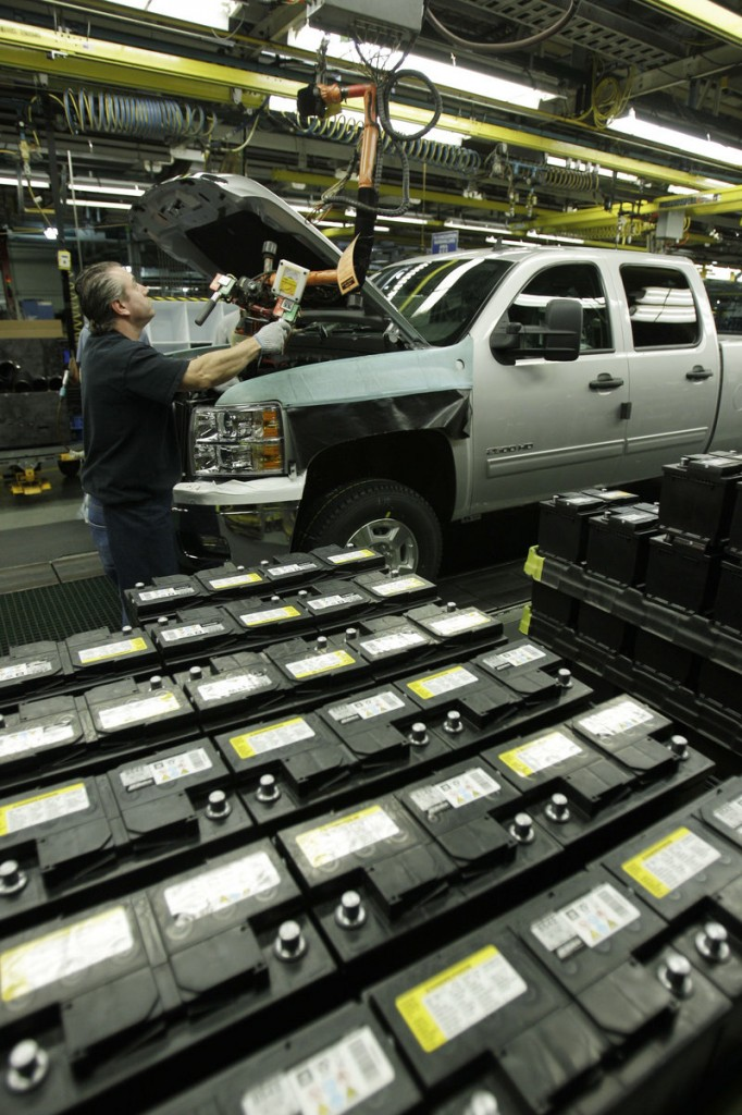 Trucks sales are down in July, hurt by continuing weakness in construction and the high unemployment rate.