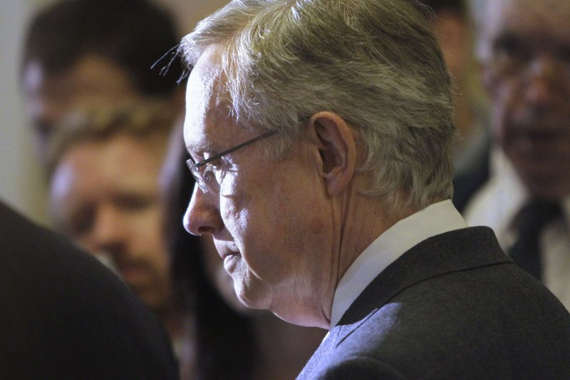"Senate Majority Leader Harry Reid, D-Nev., said Tuesday on Capitol Hill that he'd like to see ""people with open minds"" on a new legislative committee to shrink the national debt."