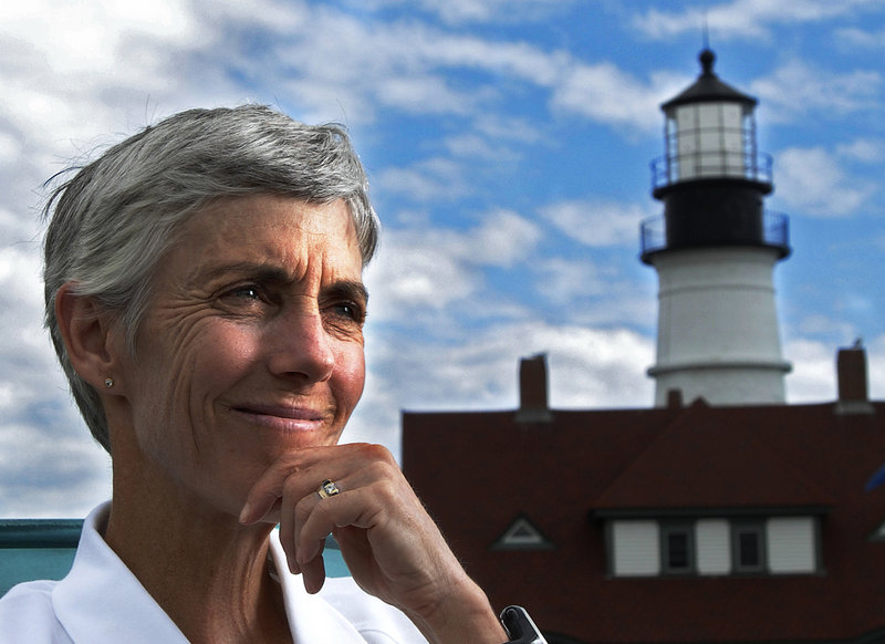 Joan Benoit Samuelson seems to be constantly on the go, running in road races and tending to business and family responsibilities all over the world. But with September on the way,