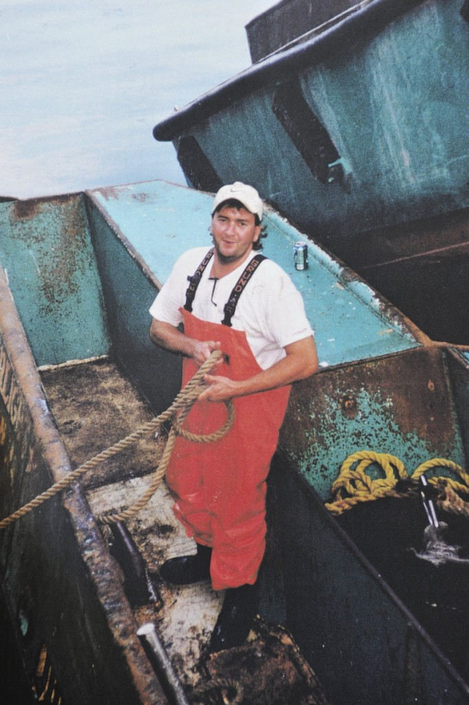 Mark Doughty, who had received his captain's license, left behind a wife and two young daughters when he died in a boat collision at age 33. He had a happy-go-lucky nature and was the youngest of five siblings, his mother said.