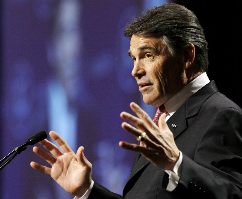 Texas Gov. Rick Perry began organizing today's day of prayer and fasting in Houston before he considered a run for president, and the people invited to speak may affect Perry's appeal to voters, should he launch a campaign.