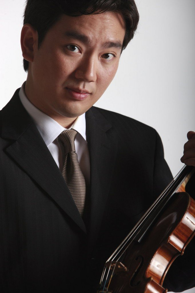 Violinist Frank Huang will return to the festival to perform this year.