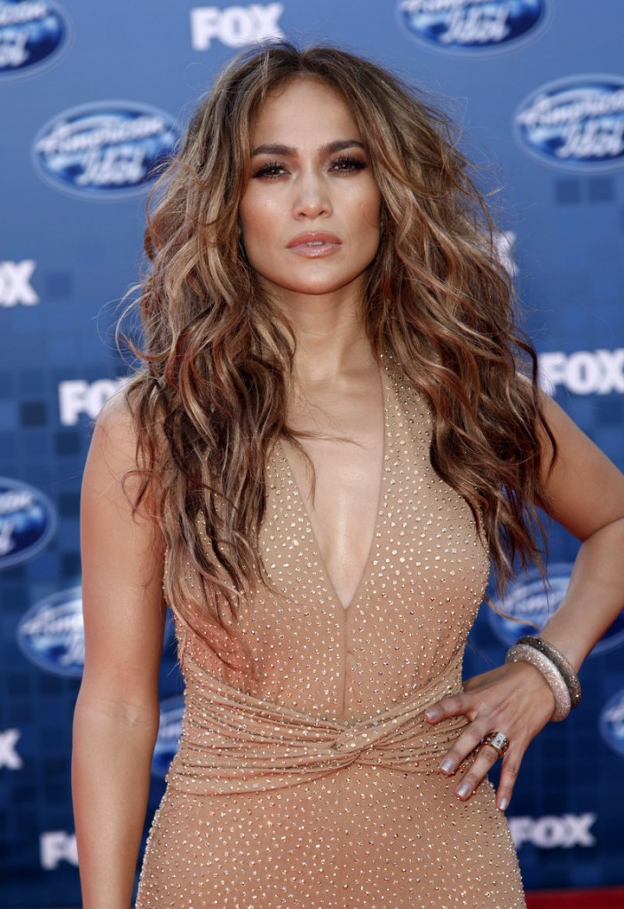Jennifer Lopez is one of three judges.