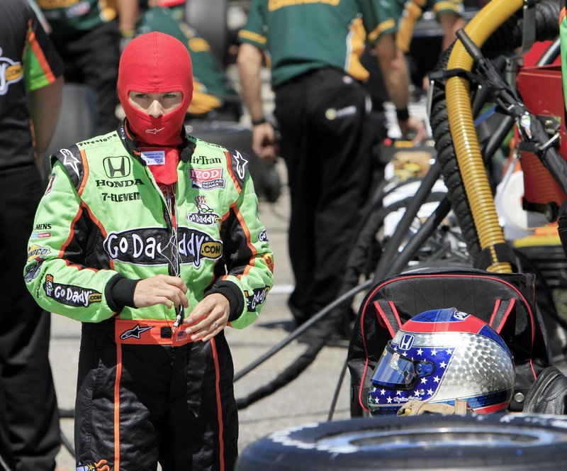 Danica Patrick is hoping to be part of an entertaining show this weekend as IndyCar races at New Hampshire Motor Speedway for the first time since 1998.
