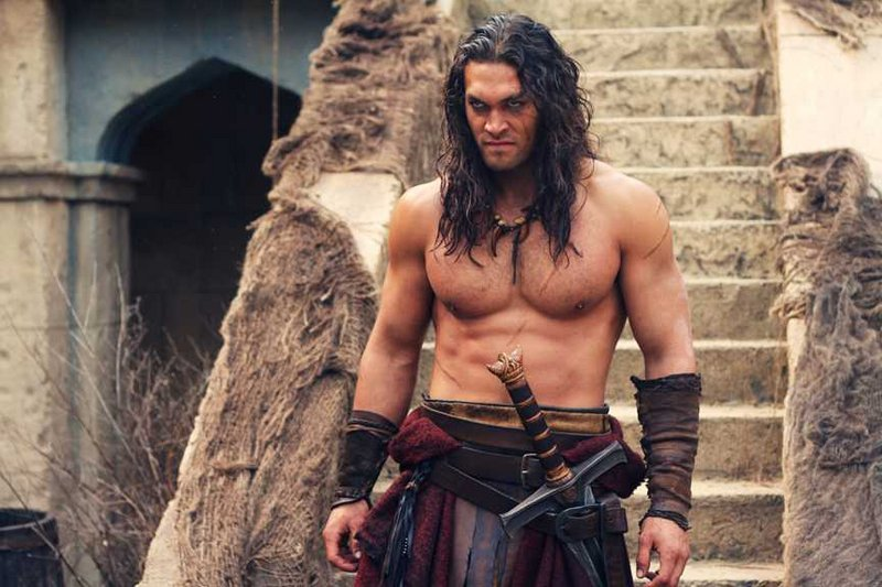 "Jason Momoa stars in the title role in ""Conan The Barbarian."""