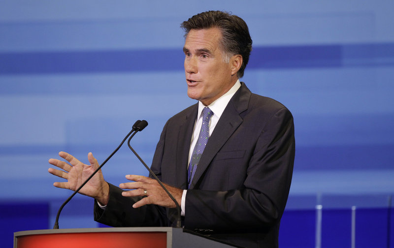 Former Massachusetts Gov. Mitt Romney will portray himself as the candidate with the best chance of defeating Obama.