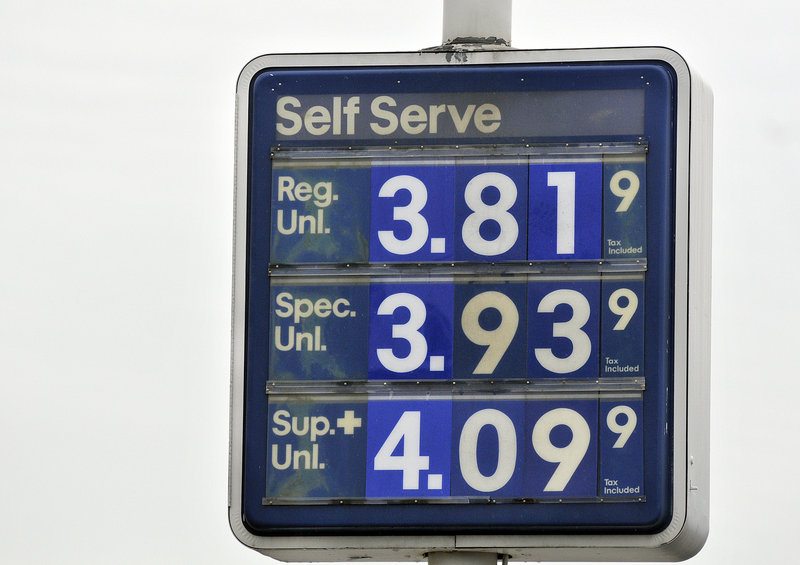 Prices in Portland on Monday showed premium still over $4, something a reader says is unconscionable.