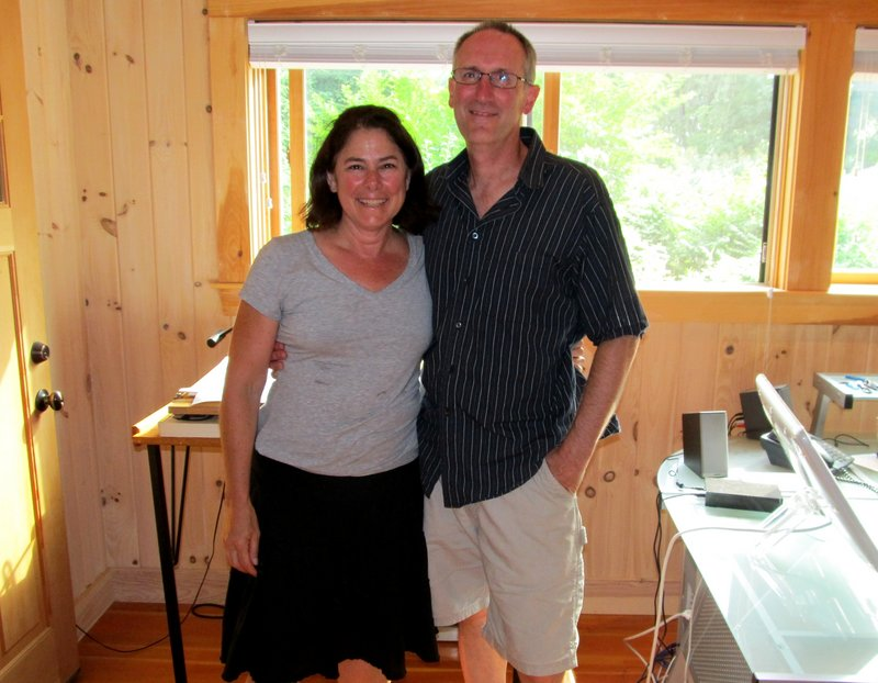 Map makers Angela Faeth and Steve Bushey, working out of their Peaks Island office, have created six guides to Maine hiking destinations, including one for their home island.