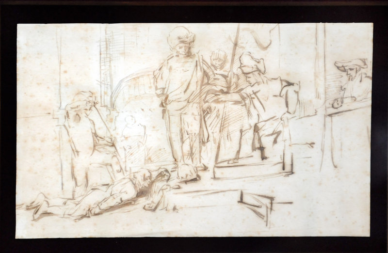 """""""The Judgment"""" depicts what appears to be a court scene."""