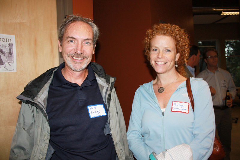 Rob Ellis, the executive director of One Longfellow Square, and Heather Chandler, founder and president of The Sunrise Guide.