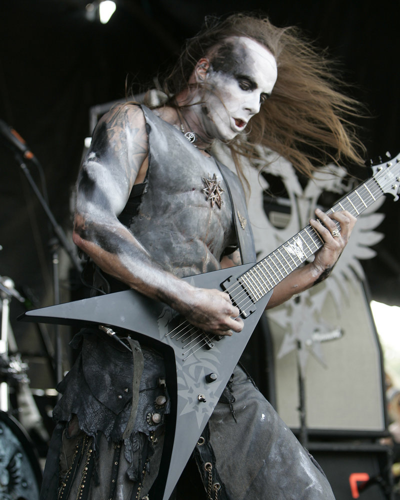 Polish 'death metal' vocalist Adam Darski, whose stage name is Nergal, was found innocent of offending religious feelings by ripping up a Bible and throwing the pages into the audience.