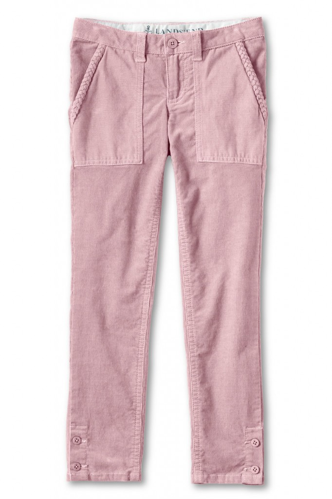 Lands End, facing soaring cost increases, redesigned its basic corduroy pants for girls to create a trendier look. The bottom line? Justify a $7 price increase to $34.50.