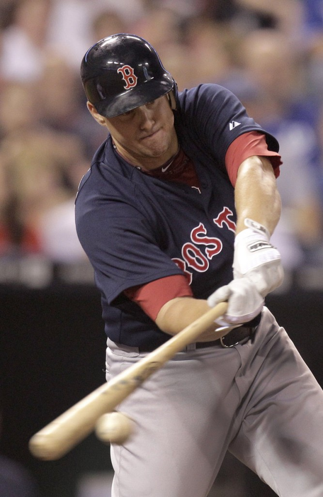 Ryan Lavarnway, a former Sea Dog who played for the Red Sox, is now a catcher for the New Hampshire Fisher Cats.