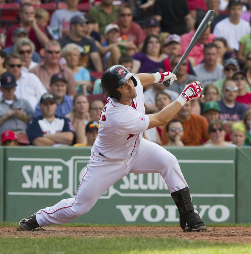 Mark Wagner, who has had an injury-plagued season, went 0 for 5 for the Sea Dogs on Saturday at Fenway Park. He remains hopeful that another team will be interested in him.