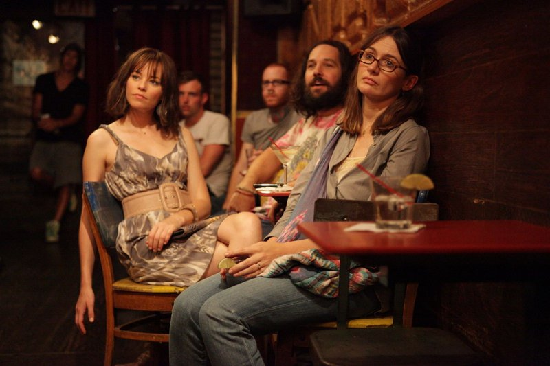 Ned's frustrated sisters are played by Elizabeth Banks, left, Emily Mortimer, right, and Zooey Deschanel.