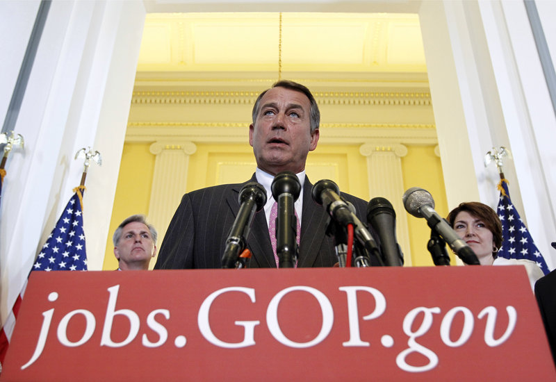 House Speaker John Boehner won just a 29 percent approval rating in a recent poll; 47 percent of Republican respondents approved of his work, but only one-fifth of independents did.