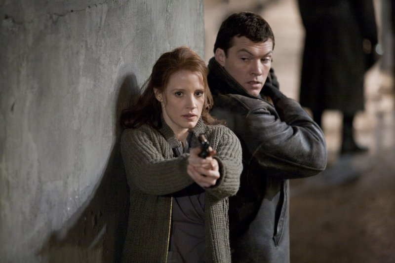 Jessica Chastain and Sam Worthington star in
