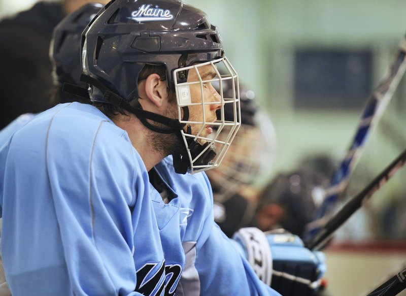 UMaine captain Will O'Neill has visited Fenway for Red Sox games, but in January he'll get to play hockey in the park.
