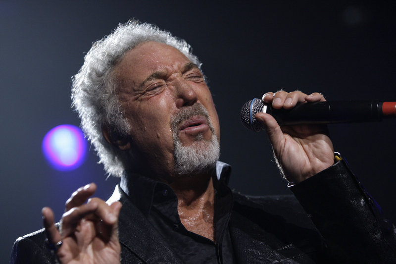 British singer Tom Jones performs in Dublin, Ireland, in 2009. Jones was hospitalized in Monaco this weekend.
