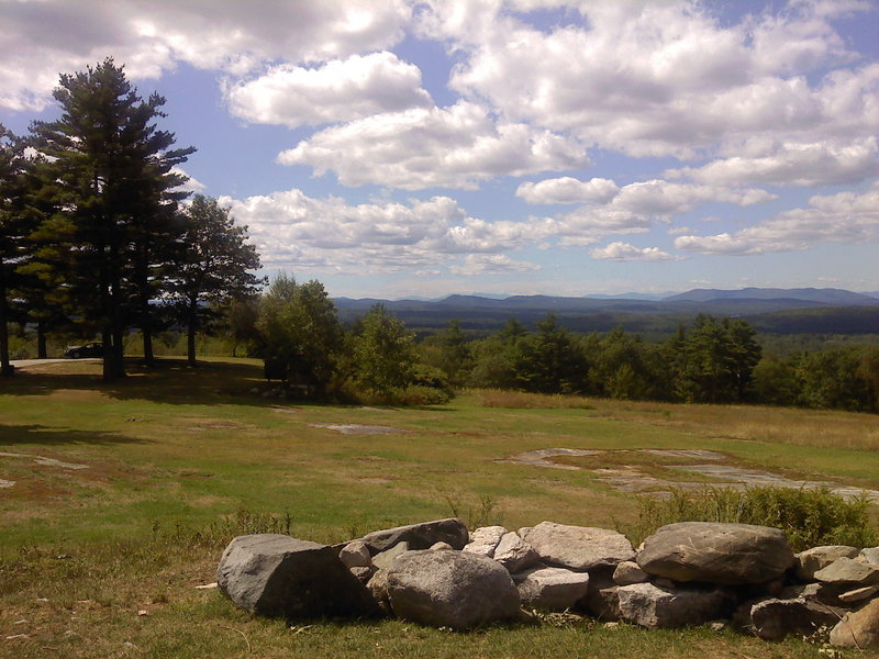 The view from Hacker's Hill in Casco is outstanding. The Loon Echo Land Trust is raising money to buy the parcel.