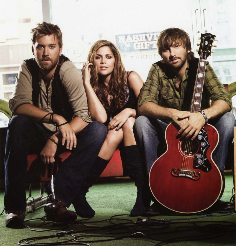 Country supergroup Lady Antebellum performs on Monday at the Bangor Waterfront Pavilion.