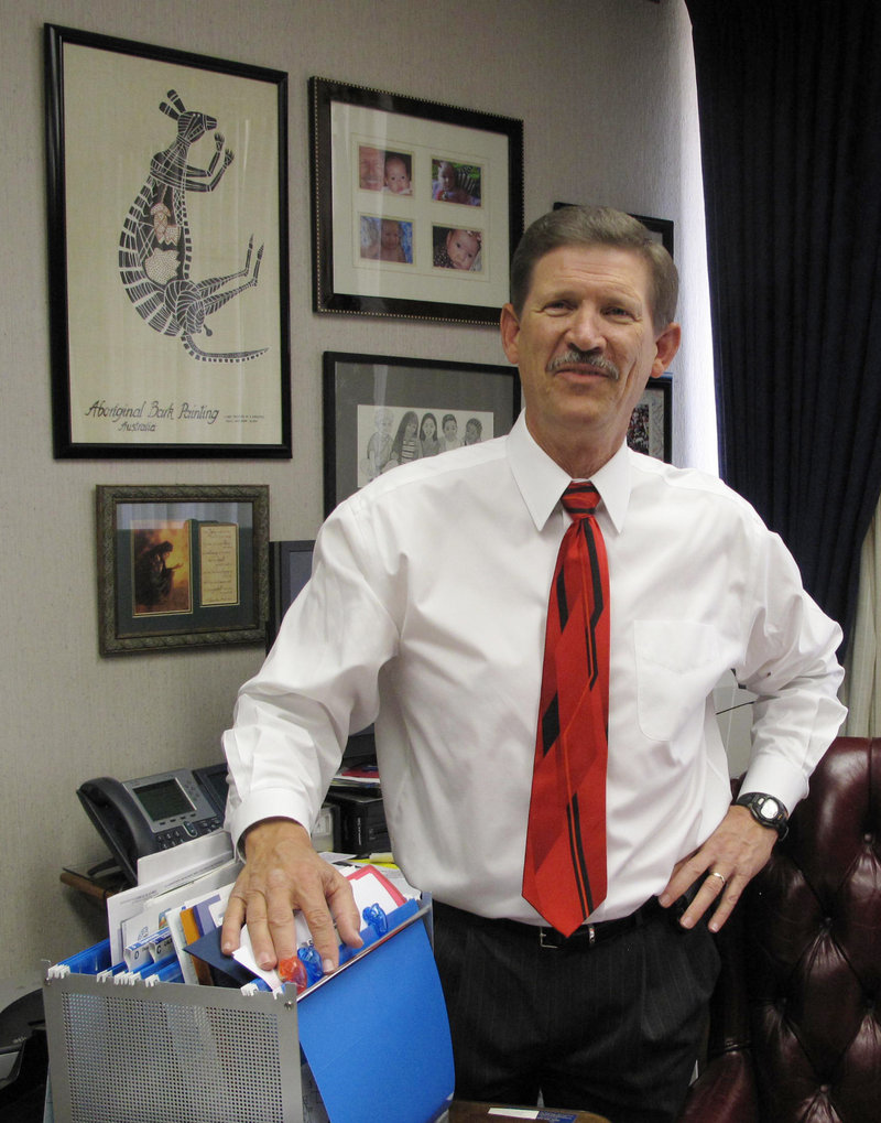 In California, Fresno County School Superintendent Larry Powell wants to help restore confidence in government.