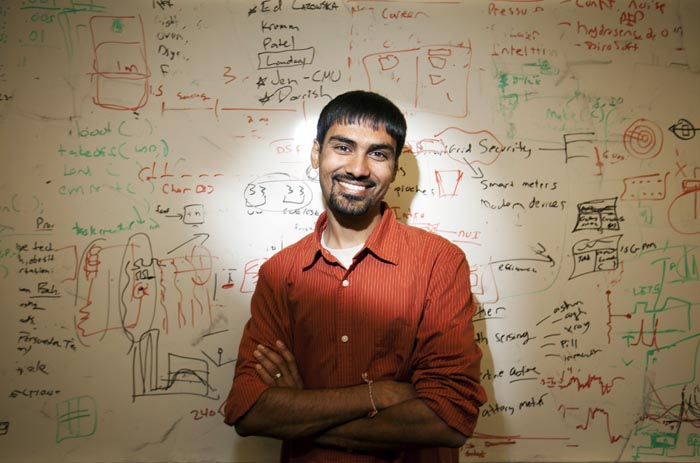 Grant recipient Shwetak Patel, 29, is a sensor technologist, computer scientist and assistant professor at the University of Washington.