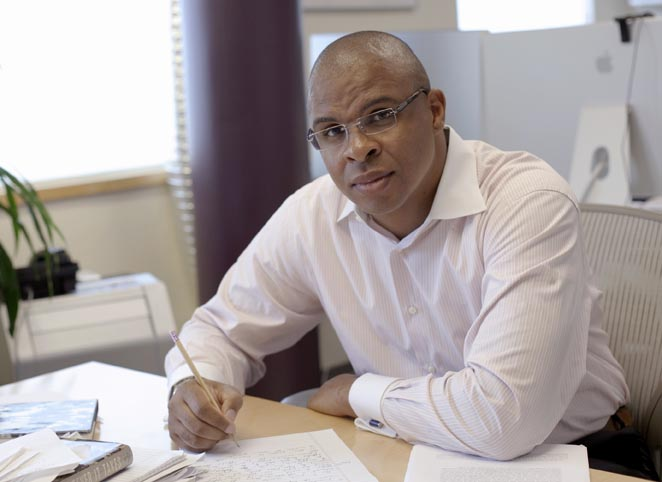 Roland Fryer, 34, is a Harvard University economics professor who studies causes and consequences of economic disparity due to race and inequality.