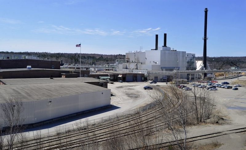 A private equity firm plans to buy the closed paper mills in Millinocket and East Millinocket, above, and reopen them.